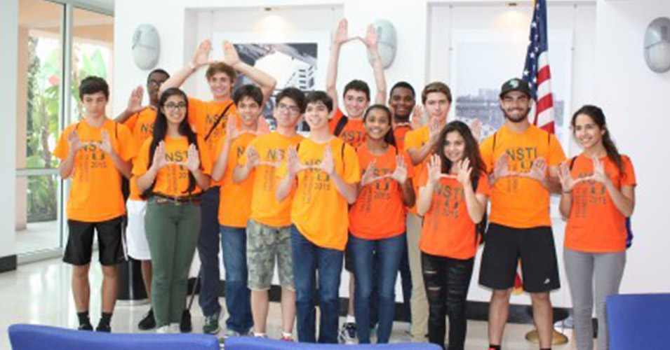 UM and FIU Engineering Summer Camp Tours District Six TMC