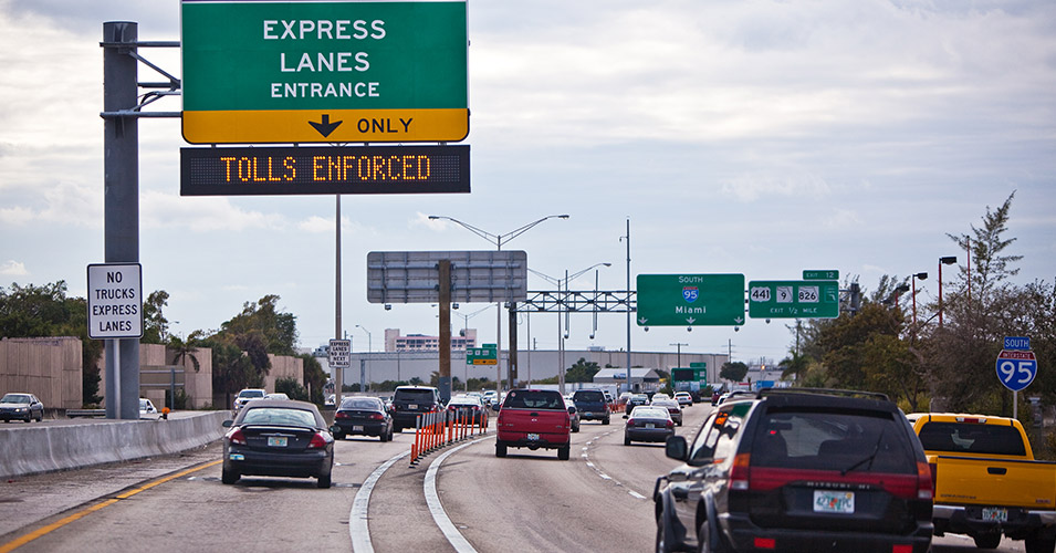 FDOT to Upgrade Highway Signs for 95 Express