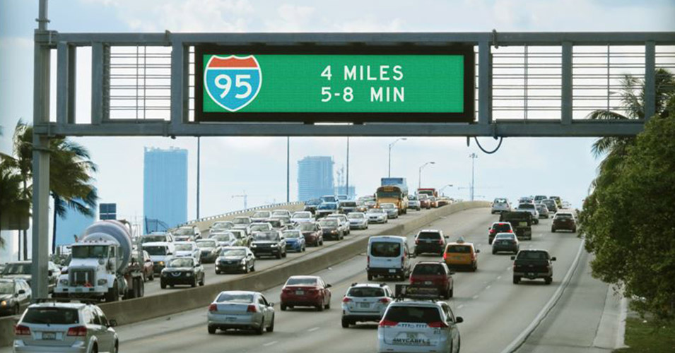 FDOT District Six Upgrades Dynamic Messaging Signs with Color Roadway Logo Graphics