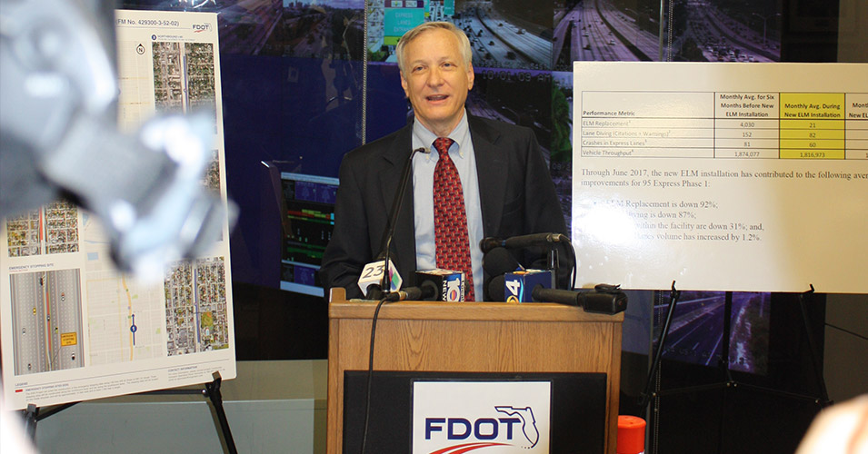 FDOT District Six Hosts 95 Express Safety Press Conference