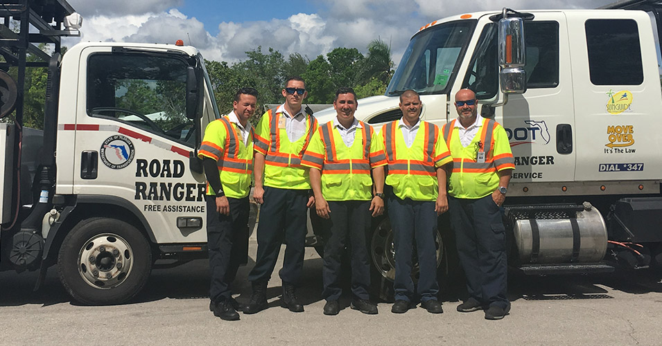District Six Road Rangers Provide Special Assistance During Hurricane Irma