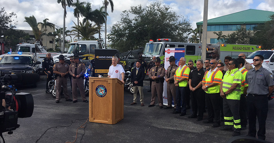 FDOT and FHP host press conference to promote driver safety