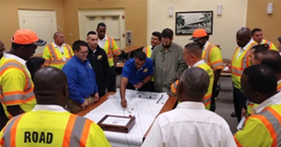 District Six Hosts Incident Management Refresher Training