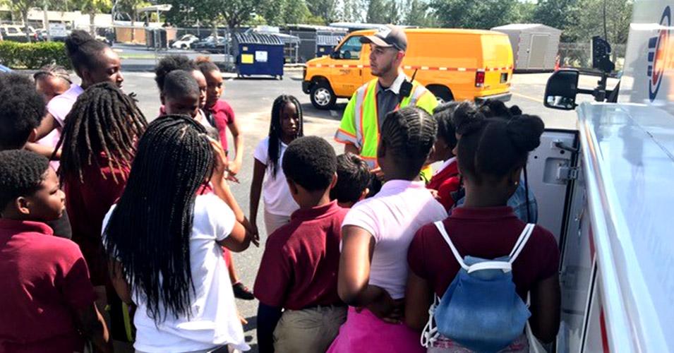 District Six Hosts Student Tour
