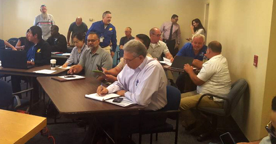 District Six Hosts Meeting for Monroe County TIM Team