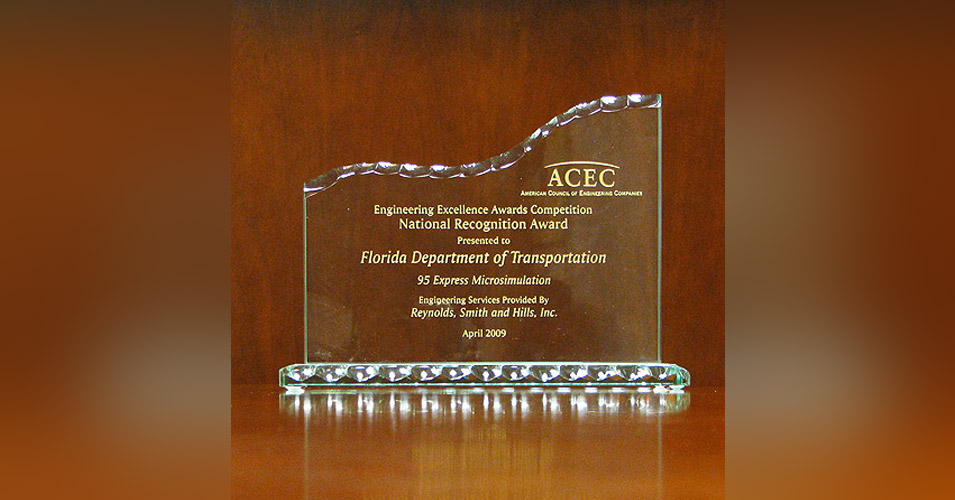 ACEC Engineering Excellence Award