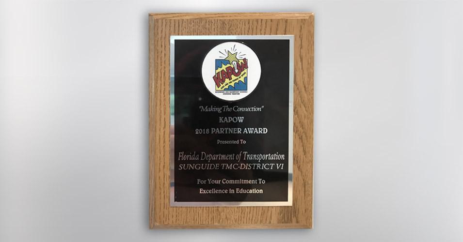 KAPOW 2018 Partner Award
