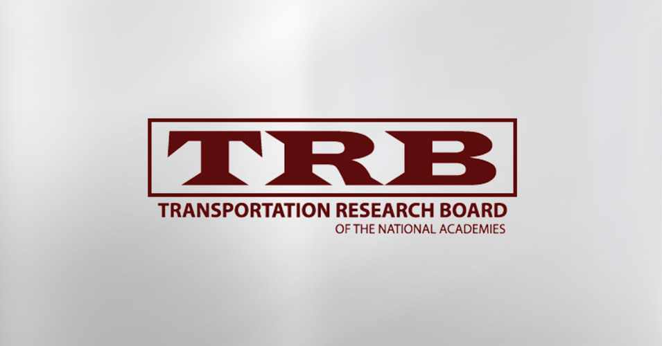 Transportation Research Board Meeting