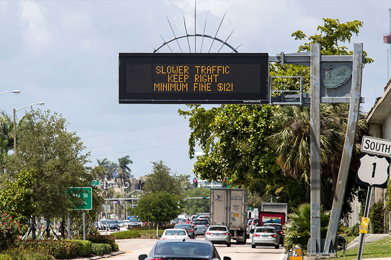 Dynamic Message Signs (DMS) FDOT TMC