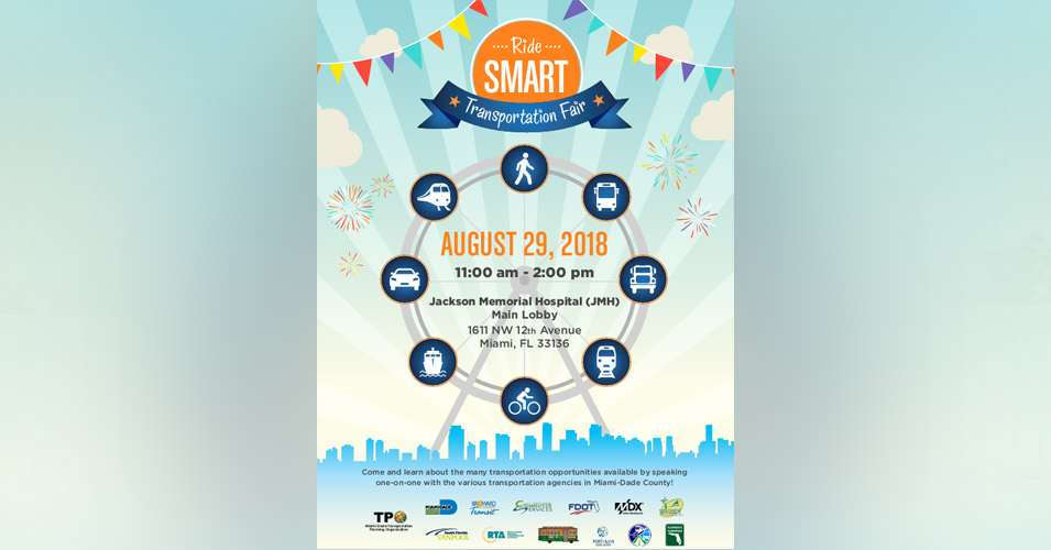 FDOT District Six Participates in TPO's First Annual Ride SMART Transportation Fair