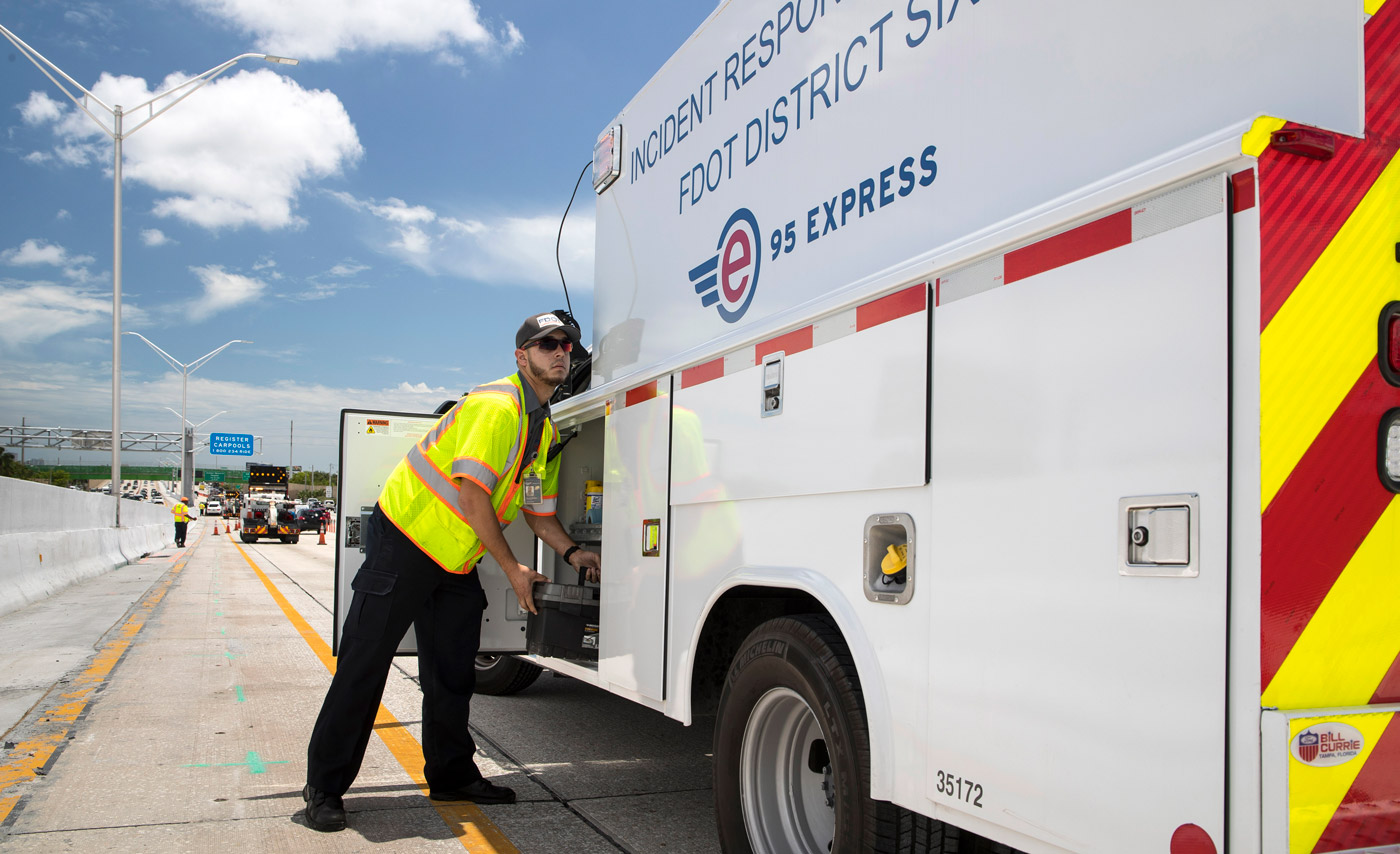 FDOT District Six Observes National Traffic Incident Response Week