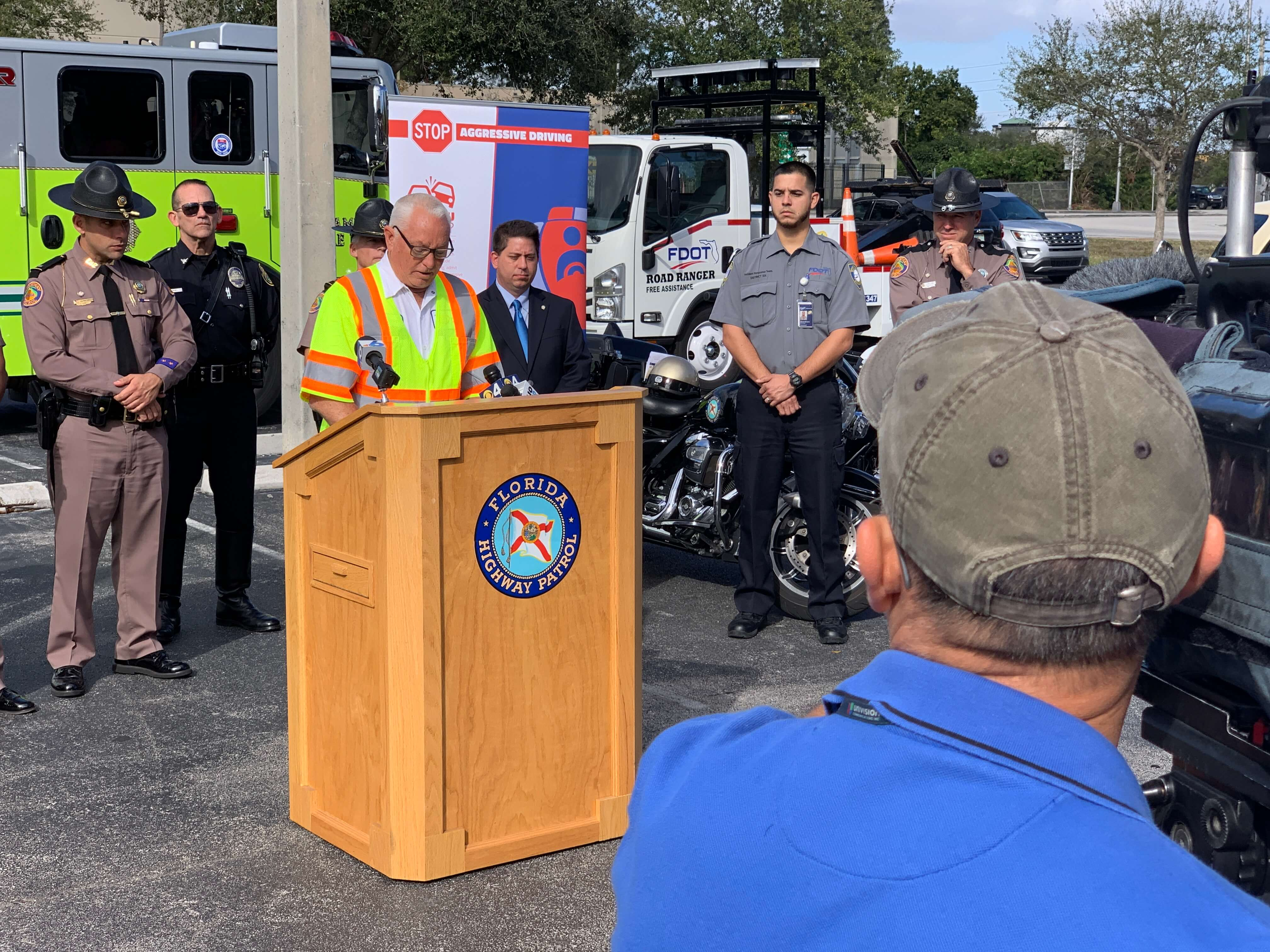 FDOT and FHP Host Media Event to Promote Roadway Safety - Home